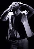 Νεαρός άνδρας στο μοντέρνο κοστούμι Στοκ φωτογραφίες με δικαίωμα ελεύθερης χρήσης