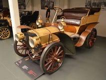 Νεαρός δικυκλιστής της Φίατ 12/16 HP σε Museo Nazionale dell'Automobile Στοκ Εικόνες