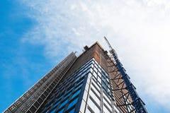 ΝΕΑ ΥΌΡΚΗ, ΗΠΑ - 22 ΙΟΥΝΊΟΥ 2017: Άπειρα εταιρικά κτήρια, το της περιφέρειας του κέντρου Μανχάταν, πόλη της Νέας Υόρκης, Ηνωμένες Στοκ Φωτογραφία
