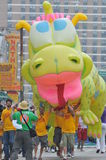 ΝΕΑ ΥΌΡΚΗ - ΣΤΙΣ 18 ΙΟΥΝΊΟΥ: Ο μη αναγνωρισμένος συμμετέχων παρευρίσκεται στην παρέλαση γοργόνων στο Coney Island στο Μπρούκλιν Στοκ φωτογραφία με δικαίωμα ελεύθερης χρήσης