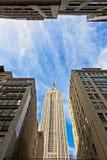 Εmpire State Building στην πόλη της Νέας Υόρκης Στοκ Φωτογραφίες
