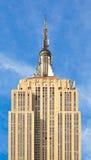 Εmpire State Building στην πόλη της Νέας Υόρκης Στοκ φωτογραφία με δικαίωμα ελεύθερης χρήσης