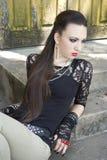 νεβρικό κορίτσι Στοκ εικόνα με δικαίωμα ελεύθερης χρήσης