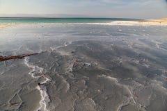 Νεκρά άλατα θάλασσας Στοκ φωτογραφία με δικαίωμα ελεύθερης χρήσης