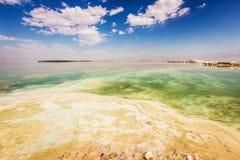 Νεκρή ακτή θάλασσας τοπίων Στοκ Εικόνα
