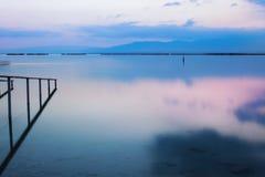Νεκρή ανατολή θάλασσας, Ισραήλ Στοκ Εικόνες