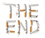 νεκρή απαγόρευση του καπνίσματος Στοκ εικόνα με δικαίωμα ελεύθερης χρήσης
