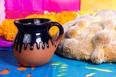 Νεκρή ημέρα ψωμιού του νεκρού εορτασμού Στοκ φωτογραφία με δικαίωμα ελεύθερης χρήσης