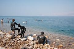 νεκρή θάλασσα λάσπης ερα&si Στοκ εικόνα με δικαίωμα ελεύθερης χρήσης