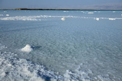 νεκρή θάλασσα τοπίων Στοκ Εικόνες