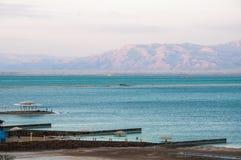 νεκρή θάλασσα βραδιού στοκ φωτογραφίες με δικαίωμα ελεύθερης χρήσης