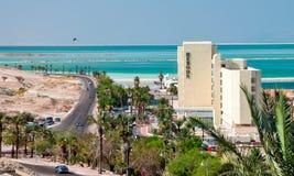 Νεκρή θάλασσα ξενοδοχείων στοκ εικόνες