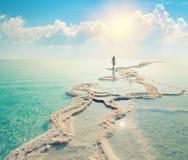 νεκρή θάλασσα Στοκ Φωτογραφίες