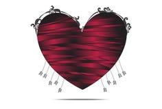 Νεκρή καρδιά Στοκ Εικόνα