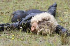Νεκρή σκηνή Στοκ φωτογραφίες με δικαίωμα ελεύθερης χρήσης