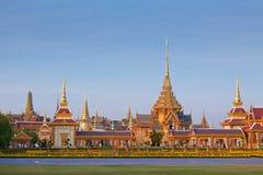 νεκρικός βασιλικός ναός Ταϊλανδός Στοκ Φωτογραφία