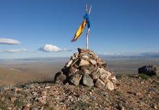 Νεκρικός σωρός των πετρών στοκ εικόνα με δικαίωμα ελεύθερης χρήσης