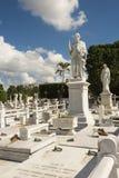 Νεκροταφείο Αβάνα άνω και κάτω τελειών Στοκ Φωτογραφία