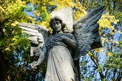 Νεκροταφείο αγαλμάτων αγγέλου Στοκ Φωτογραφίες