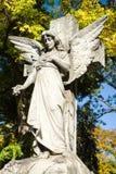 Νεκροταφείο αγαλμάτων αγγέλου Στοκ Εικόνες