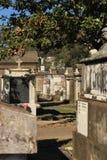 Νεκροταφείο αριθμός 1 του Λαφαγέτ Νέα Ορλεάνη Στοκ φωτογραφίες με δικαίωμα ελεύθερης χρήσης