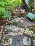 Νεκροταφείο γατών Ernest Hemingway Στοκ Φωτογραφίες