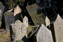νεκροταφείο εβραϊκό Στοκ εικόνα με δικαίωμα ελεύθερης χρήσης