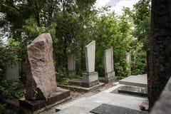 νεκροταφείο εβραϊκό Στοκ εικόνες με δικαίωμα ελεύθερης χρήσης