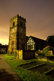 νεκροταφείο εκκλησιών στοκ φωτογραφία με δικαίωμα ελεύθερης χρήσης