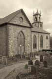 νεκροταφείο εκκλησιών Στοκ Φωτογραφία