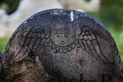 Νεκροταφείο εκκλησιών τριάδας σε Γουώλ Στρητ και Broadway, Μανχάταν, Στοκ εικόνες με δικαίωμα ελεύθερης χρήσης
