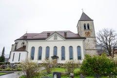 Νεκροταφείο εκτός από την εκκλησία του ST Μαυρίκιος Στοκ Εικόνες