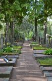 Νεκροταφείο Ελσίνκι Φινλανδία Hietaniemi Στοκ φωτογραφία με δικαίωμα ελεύθερης χρήσης