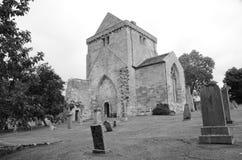 Νεκροταφείο και εκκλησία Crichton Στοκ Φωτογραφία