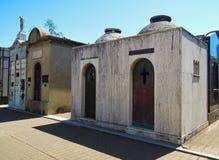 Νεκροταφείο Λα Recoleta - τάφοι απόμακρων πιθανοτήτων Στοκ εικόνα με δικαίωμα ελεύθερης χρήσης