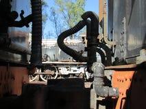 Νεκροταφείο μηχανών ατμού στο ανατολικό ακρωτήριο Queenstown Στοκ Εικόνες