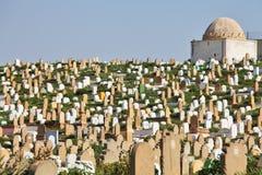 νεκροταφείο μουσουλμ στοκ εικόνες