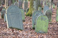 Νεκροταφείο νεκροταφείων Jewich Στοκ φωτογραφίες με δικαίωμα ελεύθερης χρήσης