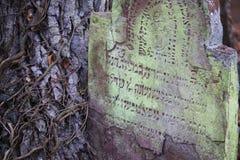 Νεκροταφείο νεκροταφείων Jewich Στοκ εικόνες με δικαίωμα ελεύθερης χρήσης