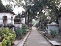 Νεκροταφείο οδών πάρκων στοκ εικόνα με δικαίωμα ελεύθερης χρήσης