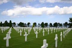 Νεκροταφείο παραλιών της Ομάχα Στοκ φωτογραφία με δικαίωμα ελεύθερης χρήσης