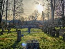 Νεκροταφείο σε Přà ¡ Å ¡ ily - umavaÅ Στοκ φωτογραφία με δικαίωμα ελεύθερης χρήσης