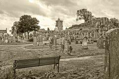 Νεκροταφείο σε Stirling Στοκ Εικόνα
