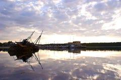 Νεκροταφείο σκαφών Στοκ Εικόνες