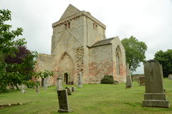 Νεκροταφείο στην εκκλησία Crichton Στοκ φωτογραφία με δικαίωμα ελεύθερης χρήσης