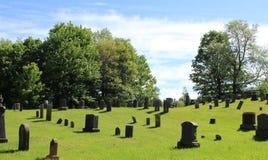 Νεκροταφείο στο Κεμπέκ στοκ φωτογραφία