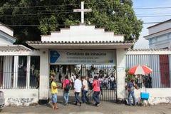 Νεκροταφείο στο Ρίο ντε Τζανέιρο Στοκ Φωτογραφία