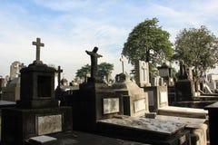Νεκροταφείο στο Ρίο ντε Τζανέιρο Στοκ Φωτογραφίες