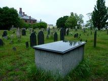 Νεκροταφείο στο Σάλεμ, Masachusetts στοκ φωτογραφία