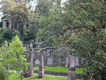 Νεκροταφείο της Γλασκώβης Στοκ εικόνες με δικαίωμα ελεύθερης χρήσης